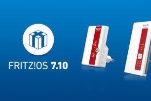 FRITZ!Repeater 1160 und 310 a und b nun auch mit FRITZ!OS 7.10