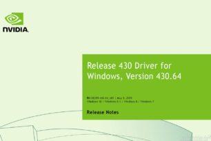 Geforce Treiber 430.64 WHQL mit einem Sicherheitsupdate steht zum Download bereit