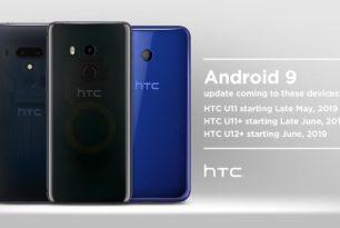 HTC U12+: Rollout vom Upgrade nach Android 9 Pie gestartet