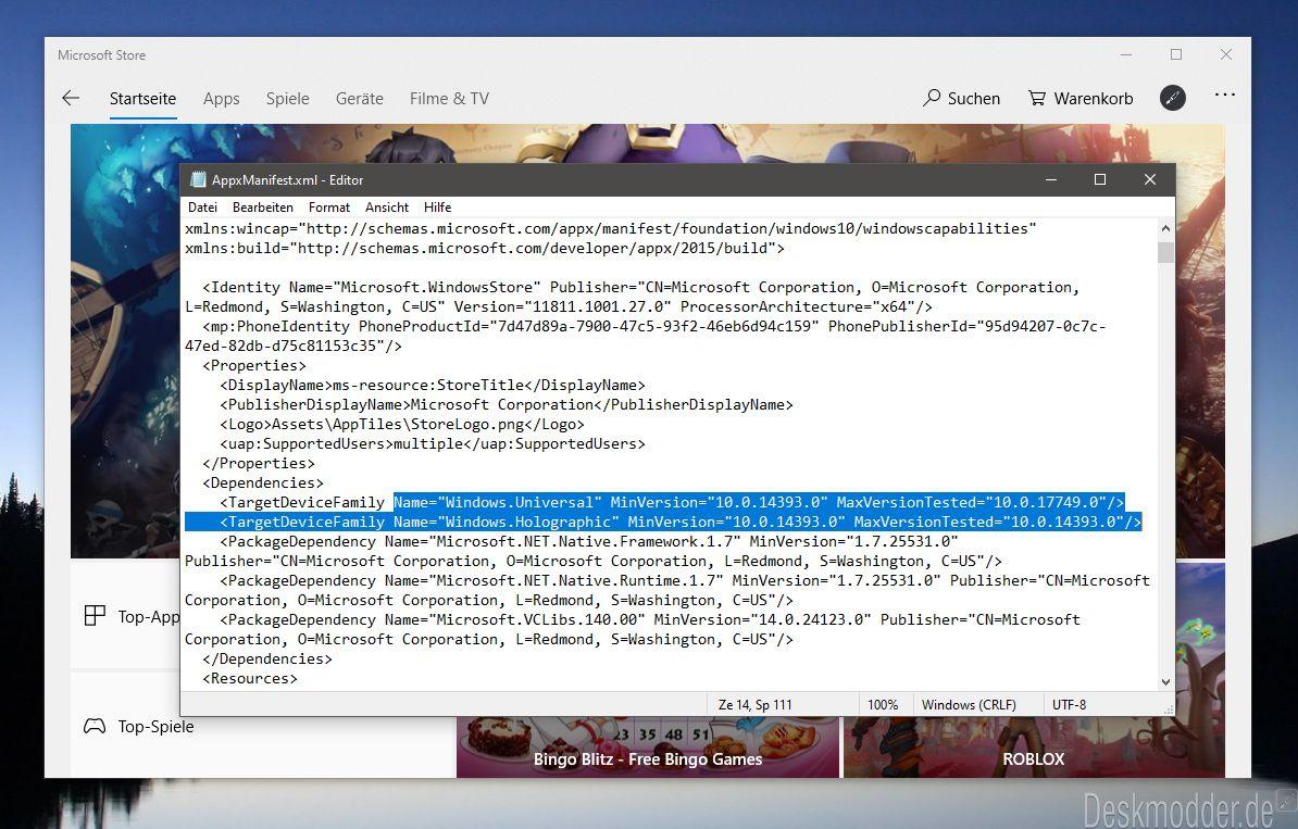 Neue Microsoft Store App unterstützt Windows 10 Mobile nicht mehr