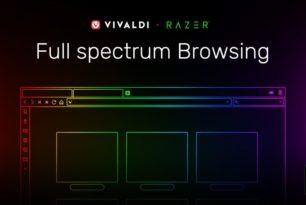 Vivaldi 2.5 – Schnellwahl-Bilder in der Größe ändern und Razer Chroma