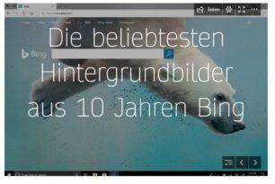 Bing hat Geburtstag 10 Jahre gibt es die Suche nun schon