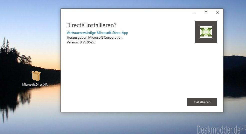 directx 9.0 web setup microsoft corporation