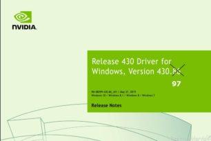 GeForce Hotfix Treiber 430.97 behebt Code 43 Fehler