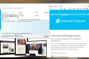 Internet Explorer 11 startet nicht in der Windows 10 1809, 1803 und darunter (Workaround)
