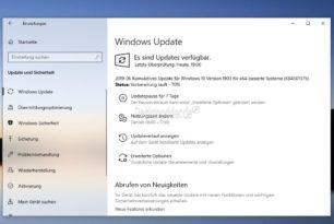 RASMAN Problem unter Windows 10 1903 und die Fehlinformationen