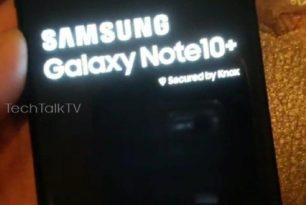 Samsung Galaxy Note 10+ und nicht Pro – Fotos geleakt