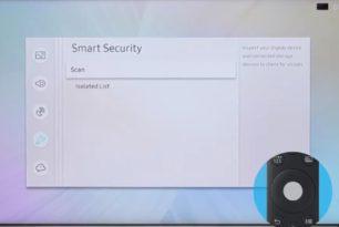 Samsung Smart TV nach Viren durchsuchen – Wer macht das schon?