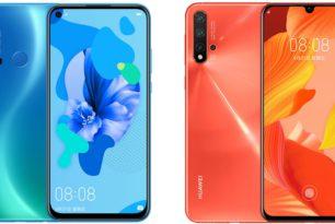 Huawei Nova 5i, Nova 5 & Nova 5 Pro offiziell vorgestellt