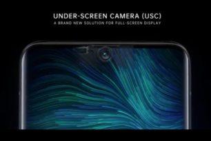OPPO zeigt Smartphone-Prototypen mit Frontkamera unter dem Display
