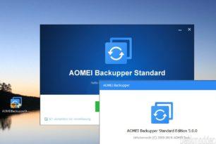 AOMEI Backupper (Standard) 5.0 ist erschienen (Kurzer Test)