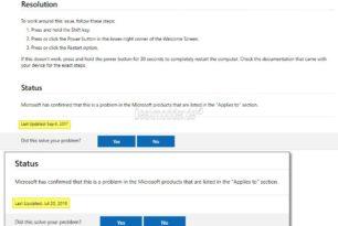 Zwei Jahre altes Problem unter Windows 10 – Man ändert mal einfach so das Datum