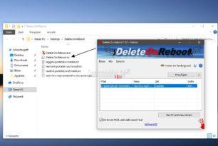Delete.On.Reboot – Dateien durch einen Neustart löschen lassen