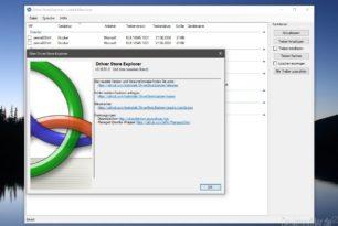 DriverStore Explorer (RAPR) 0.10.51 deinstalliert nun auch DCH-Treiber und mehr