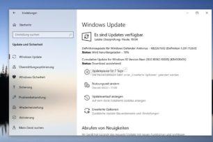 KB4508451 Windows 10 1909 18362.10005 (Manueller Download) steht im Slow Ring bereit