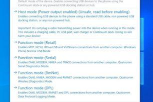 WOA Windows 10 ARM Treiber Paket 1908 für das Lumia 950