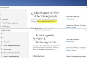 Aus Windows Defender wird Microsoft Defender in der Windows 10 2003 (20H1) [Update]