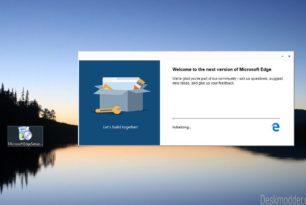 Microsoft Edge (Chromium) Stable Installer aufgetaucht