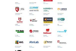 Microsoft aktualisiert die Liste der externen Antiviren-Programme für Windows 10, 8.1 und 7
