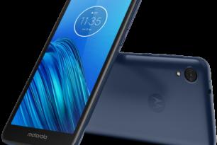 Motorola Moto E6 offiziell vorgestellt