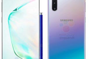 Samsung Galaxy Note 10: Erste offizielle Bilder landen im Netz