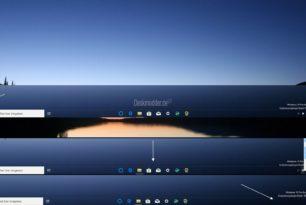 TaskbarDock – Windows 10 Icons in der Taskleiste zentrieren, transparent darstellen, Systray ausblenden und mehr