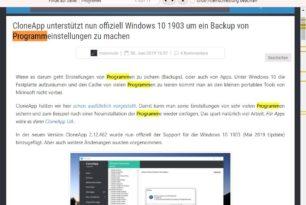 Verbesserte Suchfunktion im Chrome / Chromium Browsern kommt