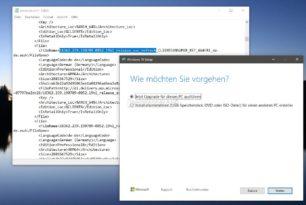 Das MCT lädt aktuell die Windows 10 1903 18362.239 Stand Juli 2019