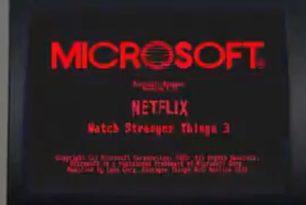 Windows 1.0: Die Teaser von Microsoft waren Werbung für Stranger Things