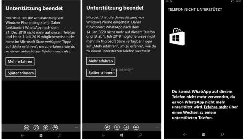 Nein Whatsapp Für Windows Phone Wird Nicht Am 1 Januar