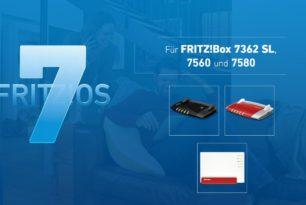 FRITZ!Box 7580, 7560 und 7362 SL bekommen heute FRITZ!OS 7.12 [2.Update]
