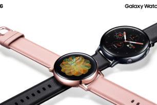 Samsung Galaxy Watch Active 2: Neue Smartwatch offiziell vorgestellt