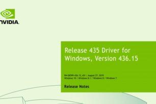 GeForce 436.15 WHQL steht zum Download bereit