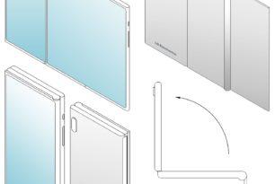 "LG faltbares Smartphone  ""Z-Fold"" Modell als Patent angemeldet"