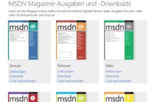 MSDN Magazine wird die letzte Ausgabe im November veröffentlichen
