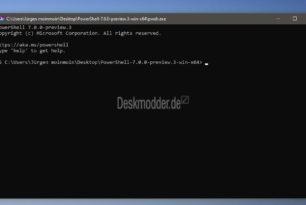 PowerShell 7 Preview 3 wurde freigegeben