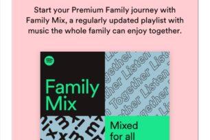 Spotify Premium Family: Family Mix & Family Hub kommen