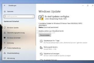 Windows 10 1909 18362.10012 und 18362.10013 (Manueller Download) KB4508451 steht im Slow Ring bereit