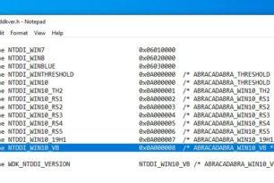 Windows 10 Vibranium – Microsoft passt den Codenamen der 20H1 an