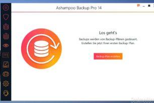 Gewinnspiel: Ashampoo Backup Pro 14 – 10 Schlüssel zu gewinnen