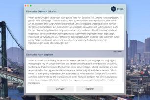 DeepL jetzt mit Desktop-Apps (Beta)