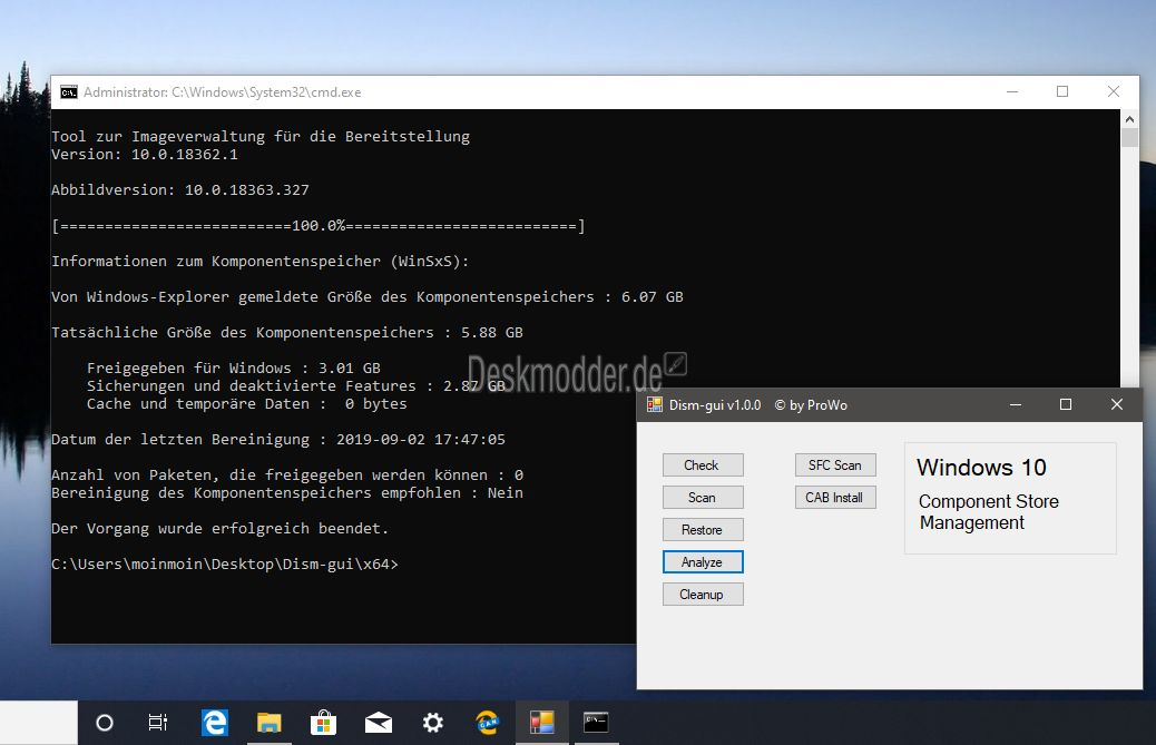 DISM-GUI 1 0 1 by ProWo - Software Updates - nsane forums