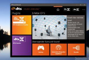 DTS Sound Unbound – DTS Headphone:X und DTS:X-Codec kann nun getestet und erworben werden
