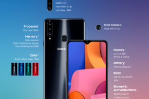Samsung Galaxy A20s: Neues Einsteiger-Smartphone hat Infinity-V-Display & Triple-Kamera an Bord