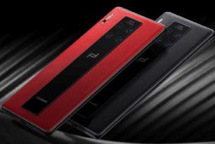 Bilder vom Huawei Mate 30 welches ohne Google Apps ausgeliefert wird