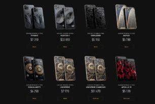 iPhone 11 Pro mit exklusiven Modellen (Titanic, Vostock-1 Apollo 11 und mehr) in limitierten Auflagen