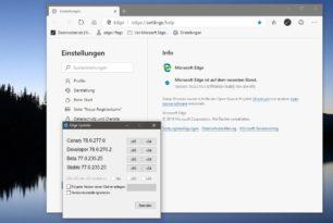 Microsoft Edge 78.0.276.2 im Dev Kanal erschienen – Changelog wieder lang
