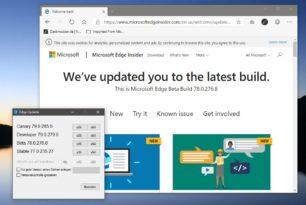 Microsoft Edge Beta 78.0.276.8 steht zum Download bereit (Probleme mit Symantec)