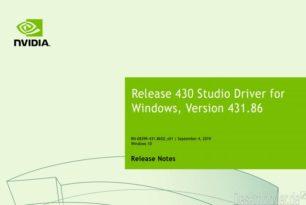 NVIDIA Studio Treiber 431.86 WHQL steht zum Download bereit