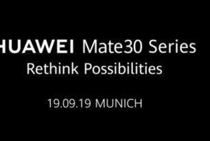 Huawei Mate 30 Serie: Erster offizieller Teaser veröffentlicht